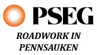 PSE&G Roadwork In Pennsauken
