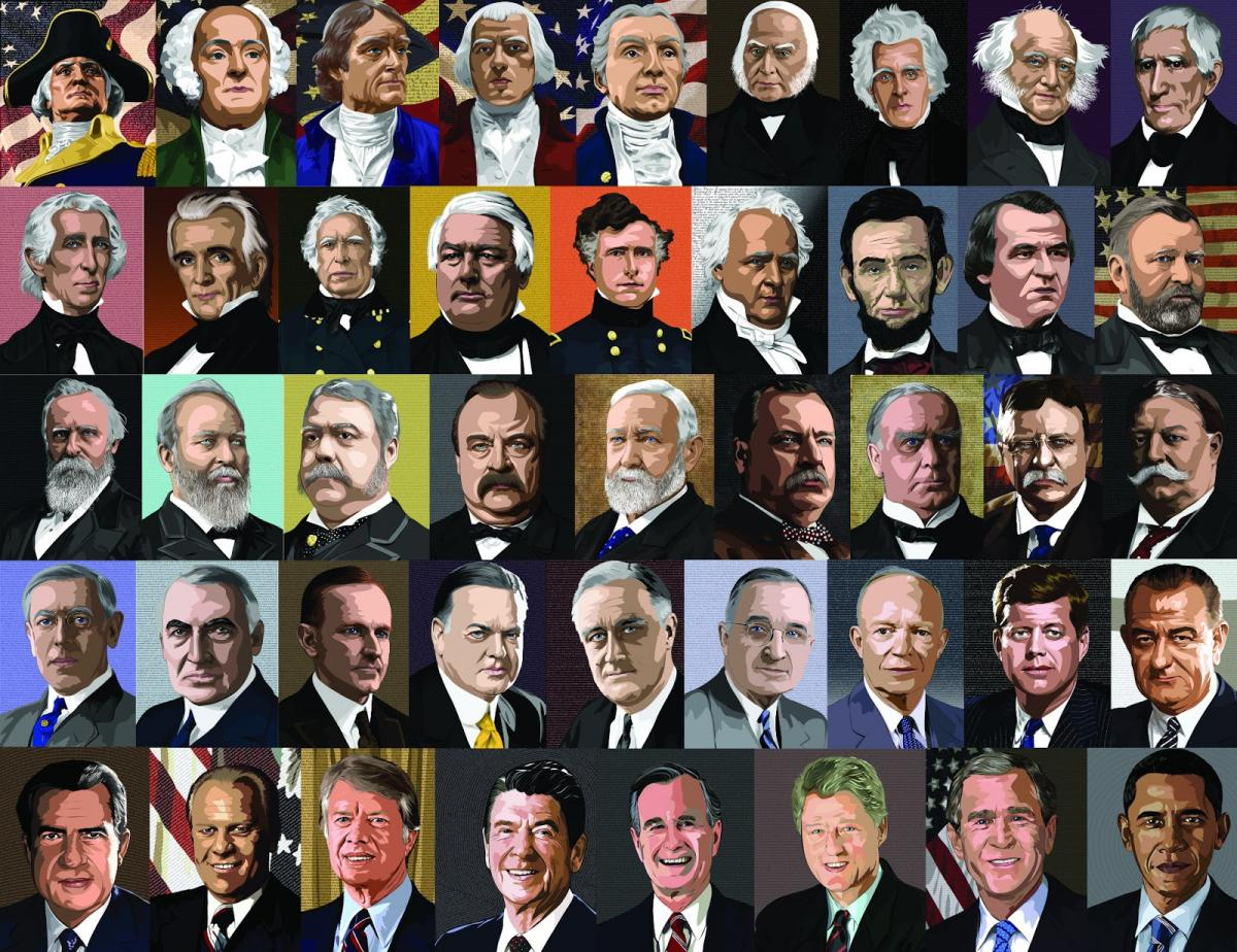 Offices closed for presidents 39 day pennsauken township for Pictures of all presidents of the united states in order