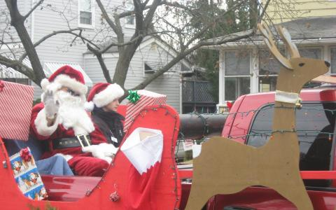 An annual tradition, Santa Claus will be escorted through various local neighborhoods by the Pennsauken Township Fire Department.