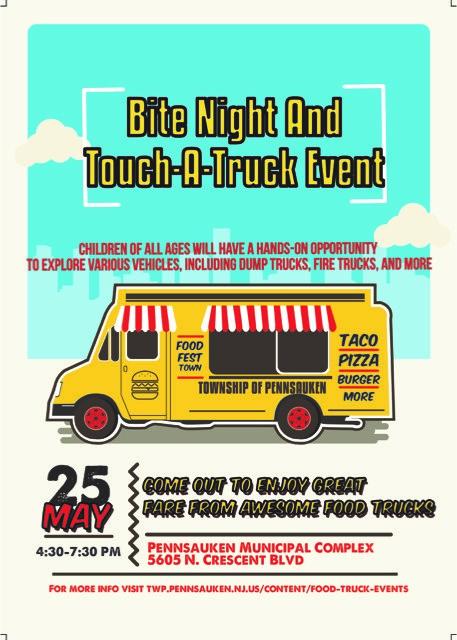 Food Truck And Touch A Truck Event Pennsauken Township New Jersey