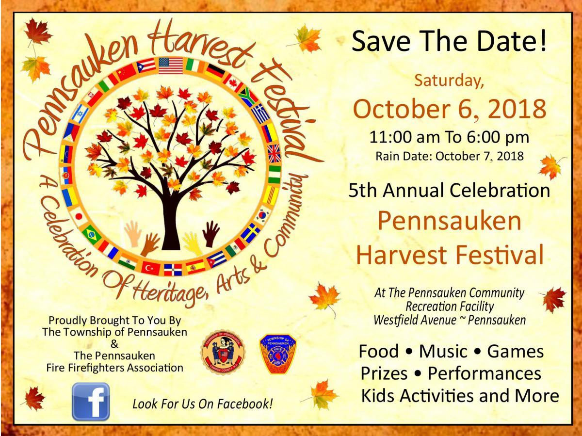 pennsauken harvest festival 2018